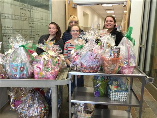 FCL Easter Baskets for St James Outreach